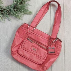 Salmon Tyler Rodan tote style handbag
